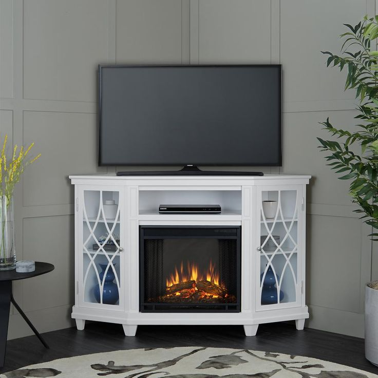 Best 25 Corner Electric Fireplace Ideas On Pinterest