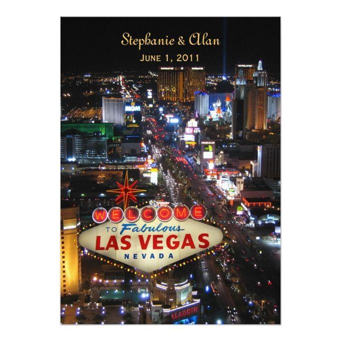 2495 besten Las Vegas Wedding Invitations Bilder auf Pinterest