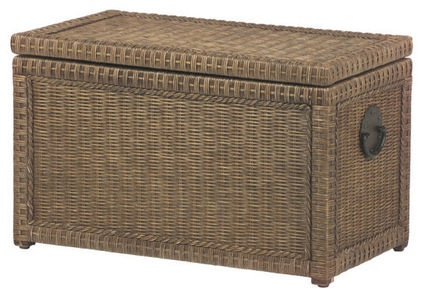 Lindi Trunk - $249.95 »  This neutral rattan version from Pier 1 is a natural beauty with seven cubic feet of storage hidden away.