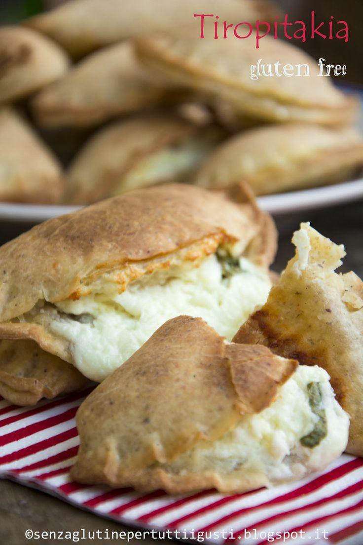 Senza glutine...per tutti i gusti!: Tiropitakia senza glutine
