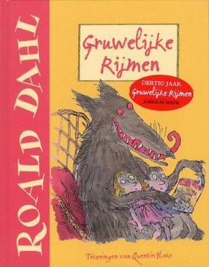 Bewerking op rijm van een aantal bekende sprookjes, met lugubere grapjes en een verrassende afloop. Met vele paginagrote en kleinere kleurenillustraties. Vanaf ca. 9 jaar. http://www.bzof.nl/zoeken/?query=Gruwelijke+rijmen