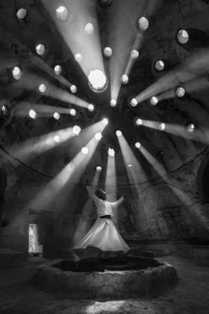 This picture of a Whirling Dervish in the town of Sille, in Konya, Turkey, is just one of the winners in the 2017 National Geographic Travel Photographer of the Year contest.