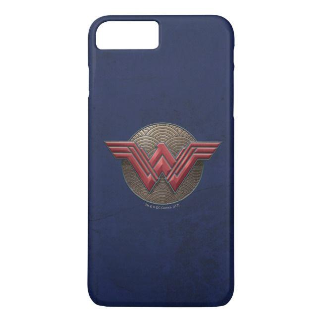 wonder woman logo comic iphone case