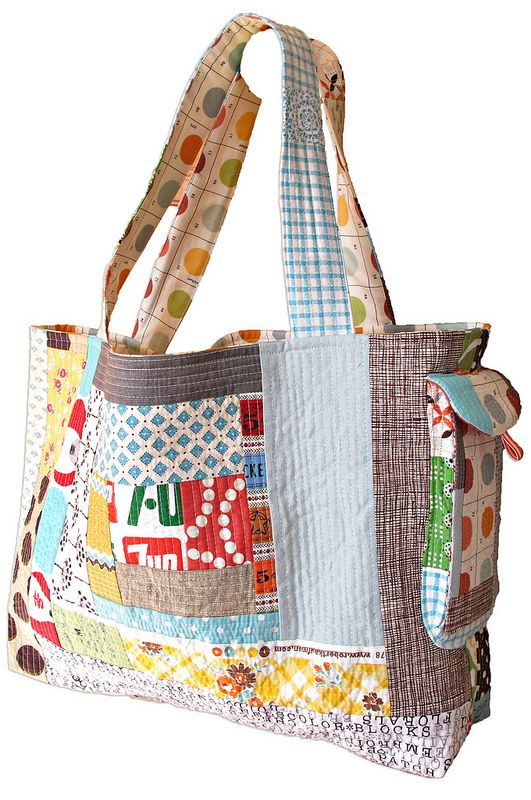 Quilted Bag from Sew Take A Hike