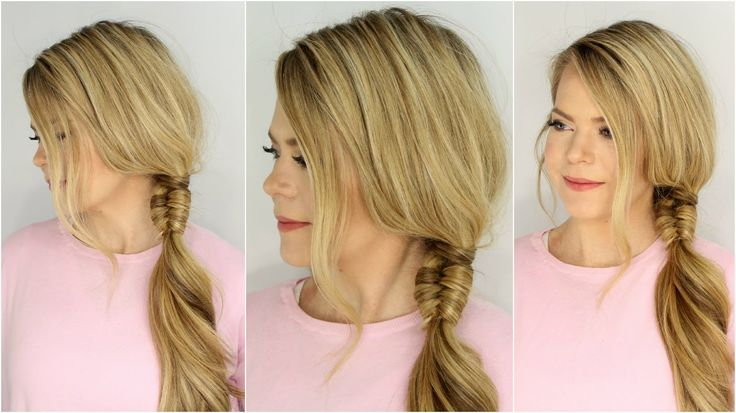 Infinity Wrapped Side Braid Hairstyles Hair Tutorials
