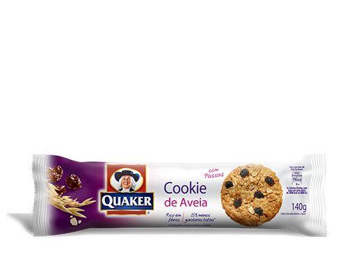 Cookies de Aveia QUAKER® sabor Passas – 140g | Quaker