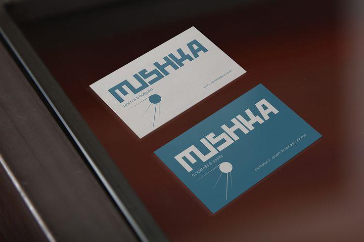 branding para speakeasy mushka.