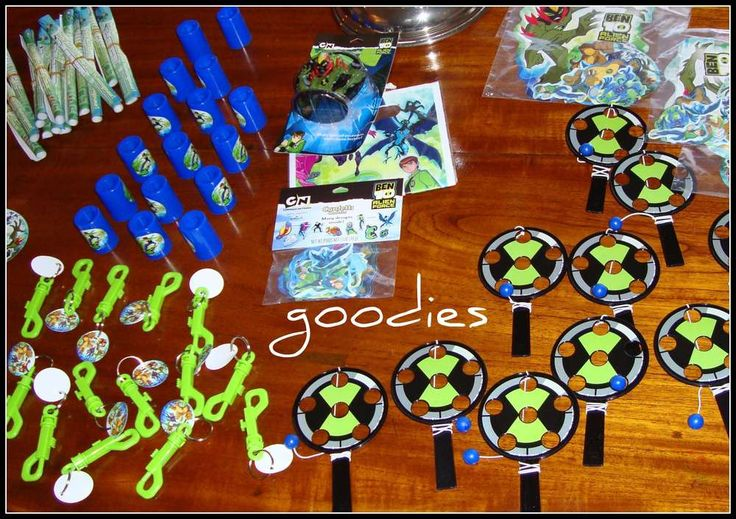 ben 10 Birthday Party Ideas | Photo 3 of 55 | Catch My Party