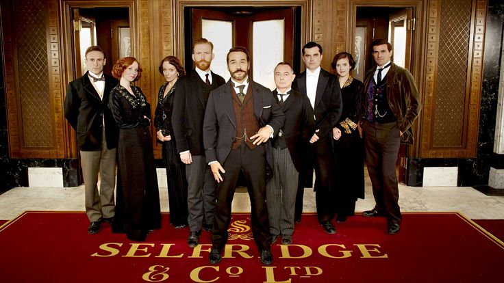 Another wonderful PBS Sunday series. This one is fun to watch - the characters, the store, the clothes, the settings! A great role for Jeremy Piven. Glad it's back.