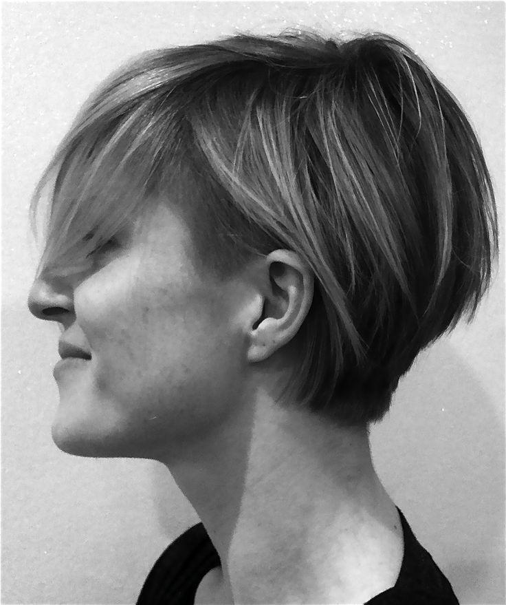 undercut, short hair
