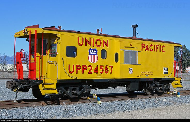 RailPictures.Net Photo: UPP 24567 Union Pacific Caboose at Bloomington, California by David Anderson