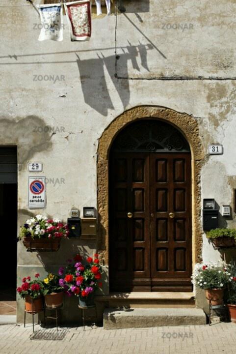 Tuscan architecture, Montescudaio Tuscany Italy