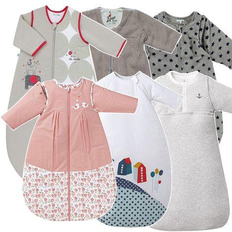 Indispensable pour assurer à bébé des nuits bien au chaud en hiver : la gigoteuse à manches longues. Découvrez notre sélection de turbulettes bébé !