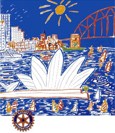 Ken Done - Rotary Club of Sydney Cove