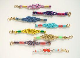 How-Tuesday: Nautical Knot Bracelets on Etsy