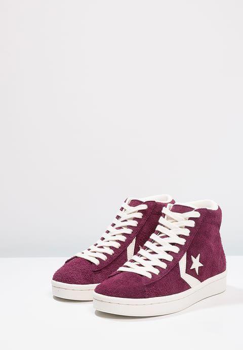 Pedir  Converse PRO LEATHER 76 MID - Zapatillas altas - dark sangria/egret por 89,95 € (24/11/17) en Zalando.es, con gastos de envío gratuitos.