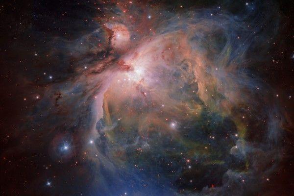 Velká mlhovina v Orionu  a její hvězdokupa