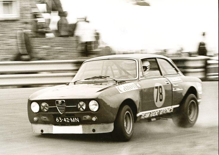 Toine Hezemans Alfa Romeo Team Radio Veronica