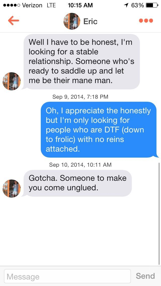 """This Guy Joined #Tinder As A Horse And His Conversations Are Funnier Than Just """"Hay Girl!"""""""