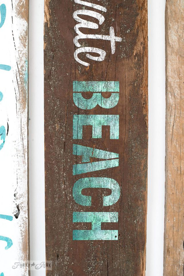 Make Your Own Rustic Beach Lake And Bed Breakfast Signs
