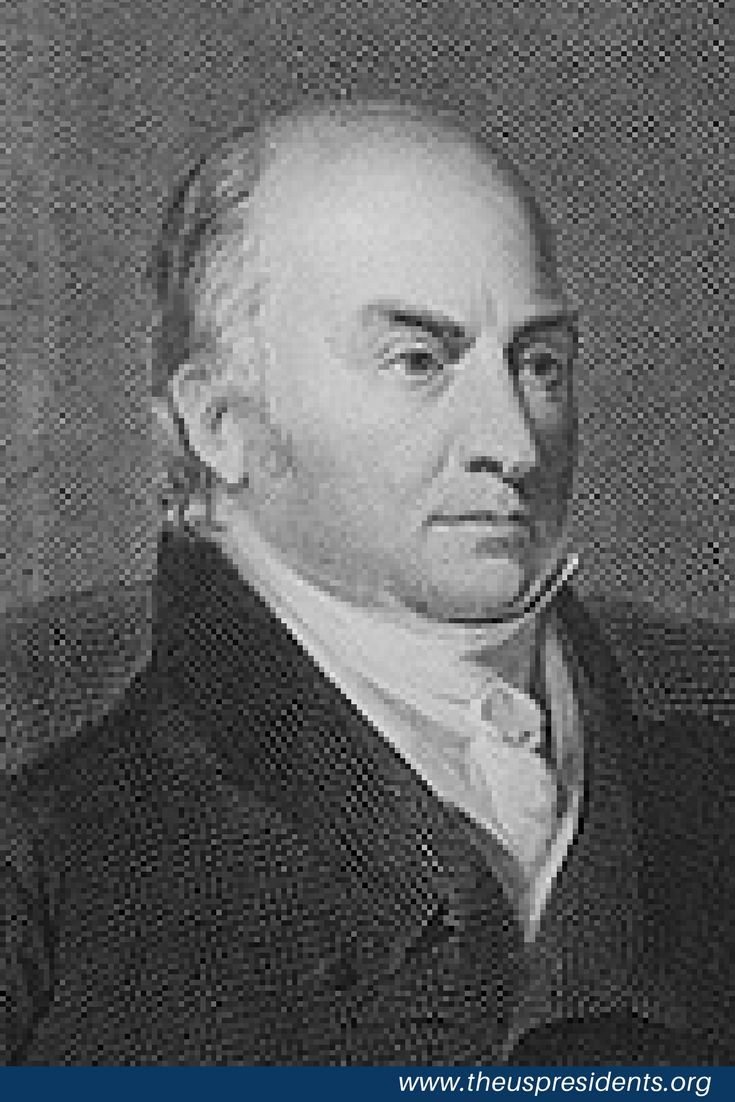 John Quincy Adams, son of John and Abigail Adams, served as the sixth President of the United States from 1825 to 1829. A member of multiple political parties over the years, he also served as a diplomat, a Senator, and a member of the House of Representatives.