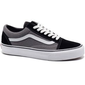 FANCY SALE: Follow us and repin and win  Vans Old Skool Black / Grey  (Click on photo to see more ...)