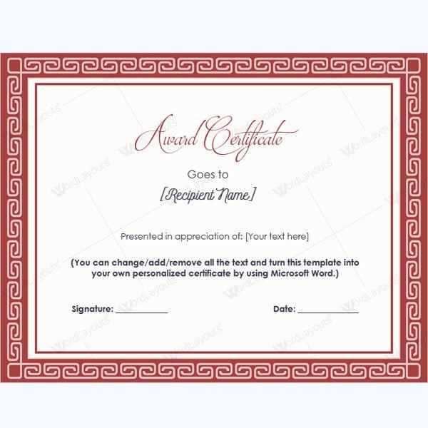 Award of excellence template madohkotupakka award of excellence template yadclub Images