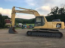 KOMATSU ADVANCE PC220LC HYDRAULIC EXCAVATOR DOZER TRACK BOB CAT BACKHOE  apply to finance www.bncfin.com/apply excavators for sale - excavator financing