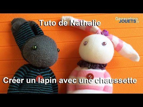 Fabriquez un Doudou Lapin avec des chaussettes !!! • Quebec echantillons gratuits