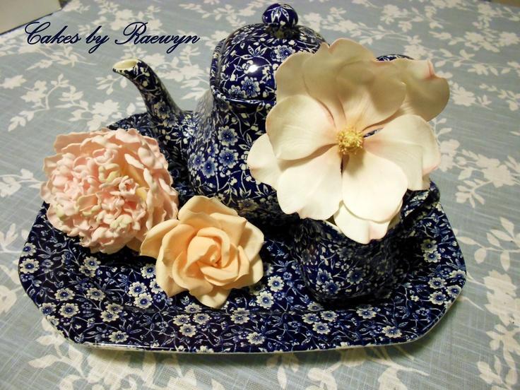 Peony, Rose and Magnolia
