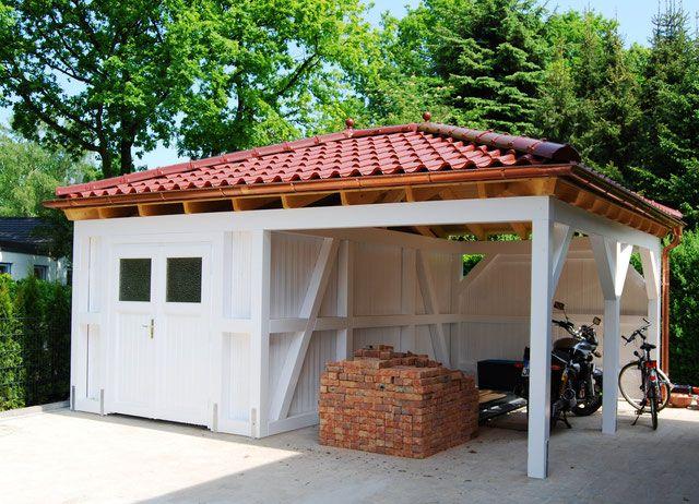 Walmdach Carport Online Planen Premium Carportwerk Carport Walmdach Dach