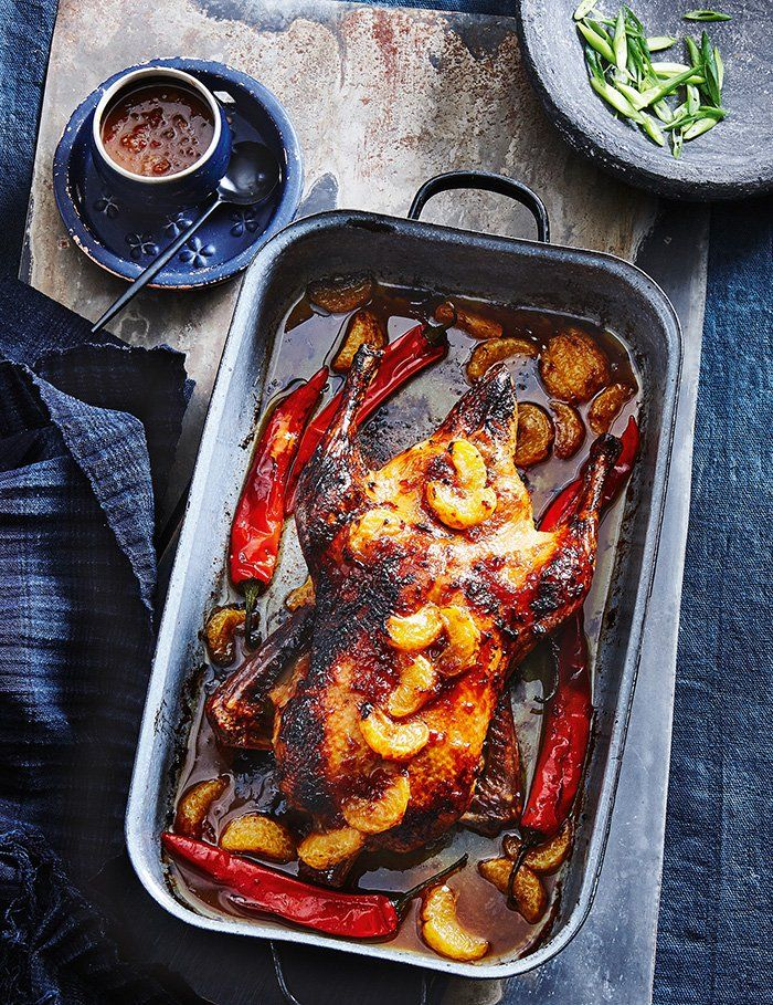 Spice up your roast repertoire with this Asian-inspired dish. Duck is deceptively simple to cook and this spiked citrus sauce provides a sweet and sticky accompaniment that will have you going back for seconds.
