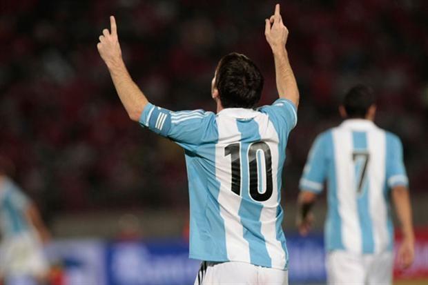 El año de Messi: llegó a 12 goles e igualó la marca de Batistuta