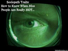How to Identify Sociopathic Traits