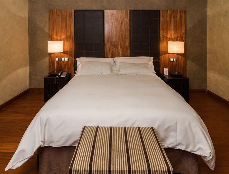 Habitación doble del Hotel La Salve, Torrijos (Toledo)
