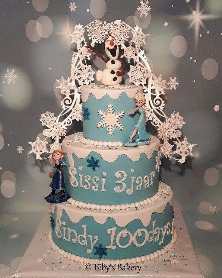 #bibysbakery #amsterdam #cake #taart #kindertaart #birthdaycake #verjaardagstaart #fondant #fondantcake #cakedecorating #frozencake #frozen #olaffrozen #olaf #lace #anafrozen #annafrozen #anna #elsafrozen #elsa #snow #sparkles