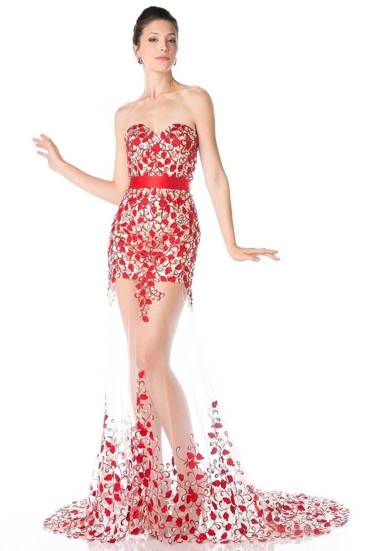 Mejores 33 imágenes de vestidos en Pinterest | Trajes de fiesta ...