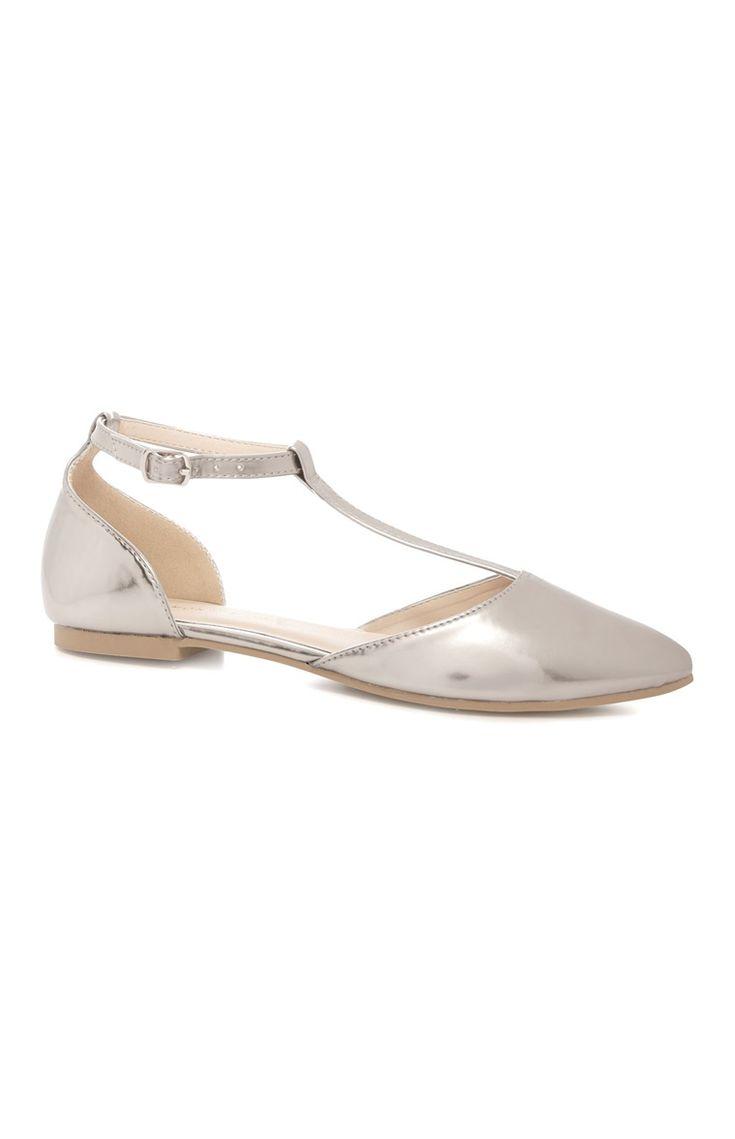Silver T Bar Ballerina
