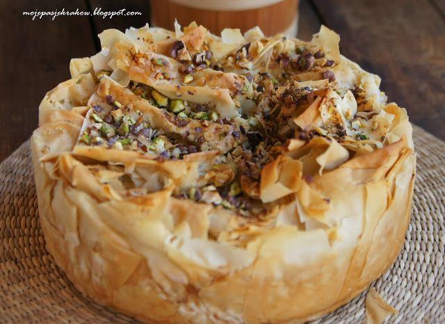 My passions: la baklava cheesecake or Baklava Cheesecake
