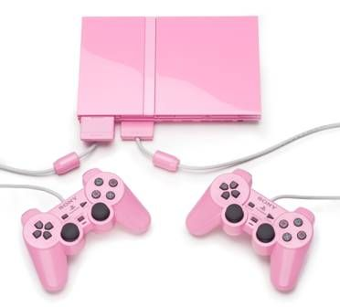 """Pink Sony Play Station 2 (PS2) .The Chinese had not recognized the color pink until they had contact with Western culture and the Chinese word for pink translates as """"foreign colour."""" #sprout #iphone #iphone5 #iphone5s #iphonecover #iphonecase #pink #smartphone #color #colour #colourmeaning #colourpsychology"""