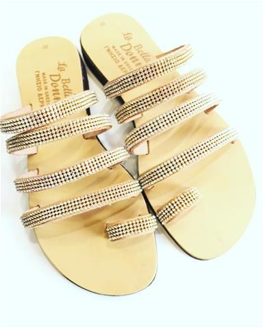 La Bella Donna - handmade greek sandals