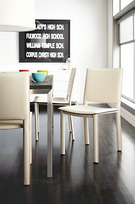 Best Images About Ideas For Saddle Wood House On Pinterest - Room and board dining chairs