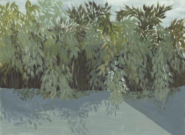 Jungle II  Acrylic and gouache on canvas.  2014