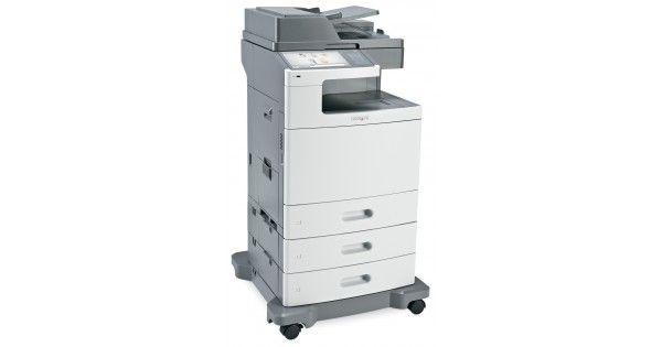 Copiator ProfesionalA3/A4 Color Laser Lexmark X950DE GRAD BTip imprimare: A3/A4Functii: Imprimare/Copiere/ Scanare/ FaxViteza de printare monocrom A4:45 ppmViteza de printare color A4: 40 ppmRezolutie: 1200 x 1200 dpiAlimentare hartie standard: 2000 coliVolum