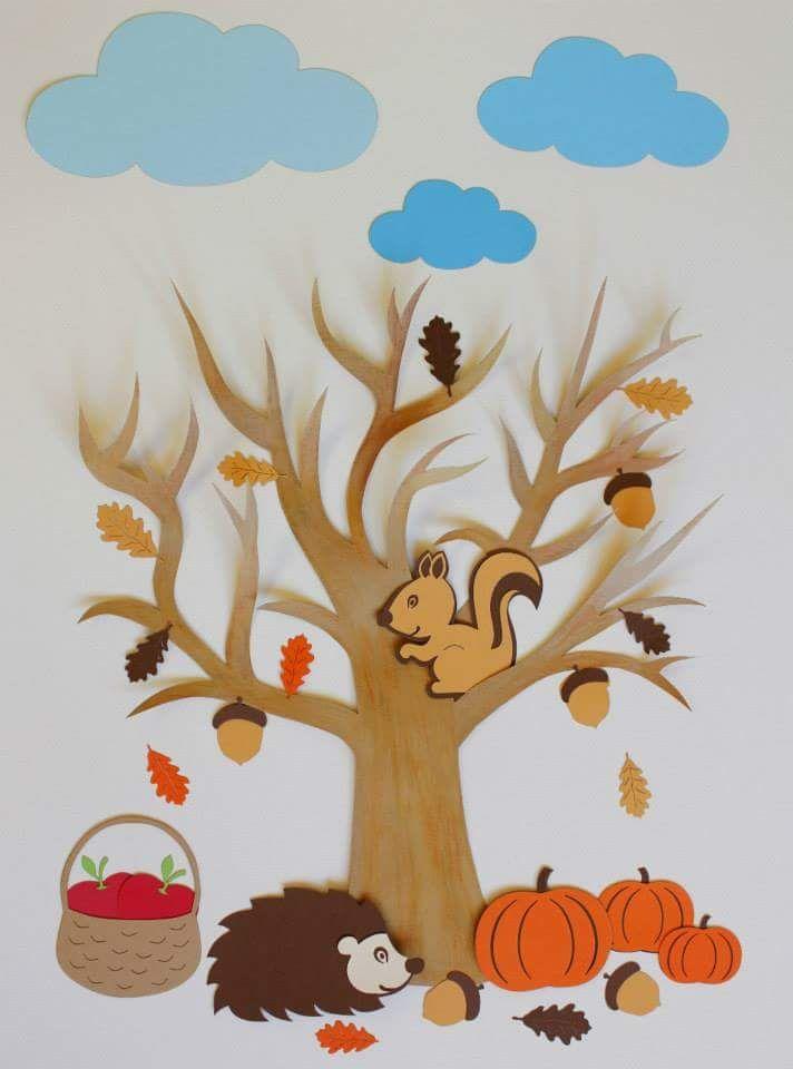 Znalezione obrazy dla zapytania autumn crafts