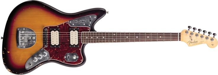 Kurt's extremely overpriced guitar...I still want it.  How do YOU afford your rock and roll lifestyle?