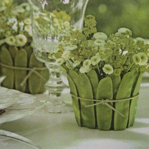 Centros de mesa para las fiestas - Decoracion - Guía de MANUALIDADES