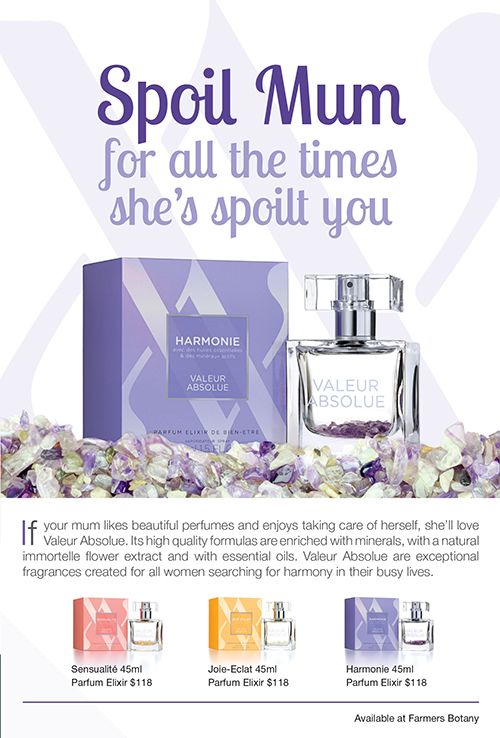 Spoil Mum for all the times she's spoilt you