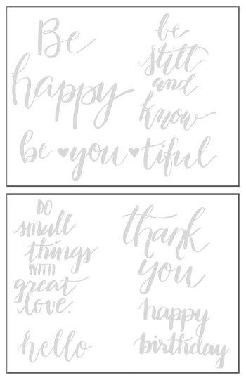 Palabras practicar la escritura en Brush letras con las hojas de trabajo libres de la decoración del Destino