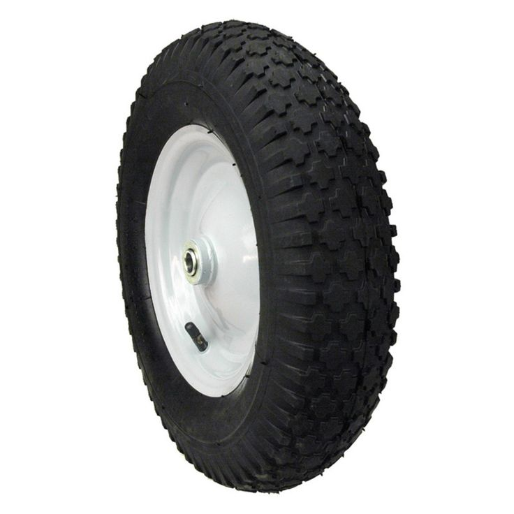 Maxpower Hub Knobby Tread Wheelbarrow Wheel